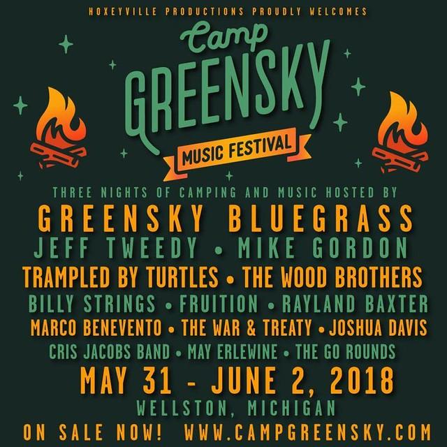 Camp Greensky Lineup