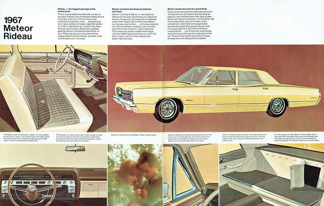 1967 Meteor Rideau 4 Door Sedan