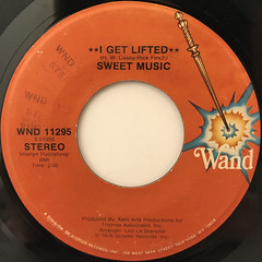 SWEET MUSIC:I GET LIFTED(LABEL SIDE-A)