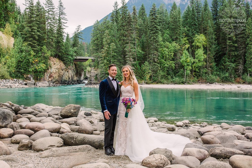 Fraser River Wedding Photos