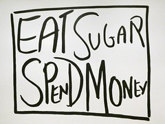 Eat Sugar Spend Money by Jessica Diamond