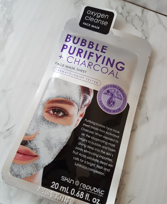 skin republic bubble face mask