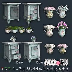 MOoH! Shabby floral gacha