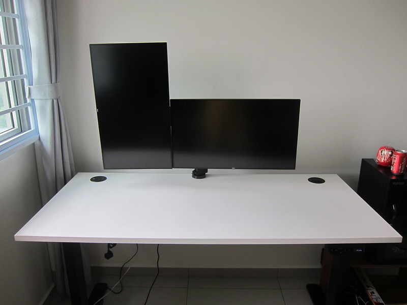 Freedom Dual Monitor Arm - Setup