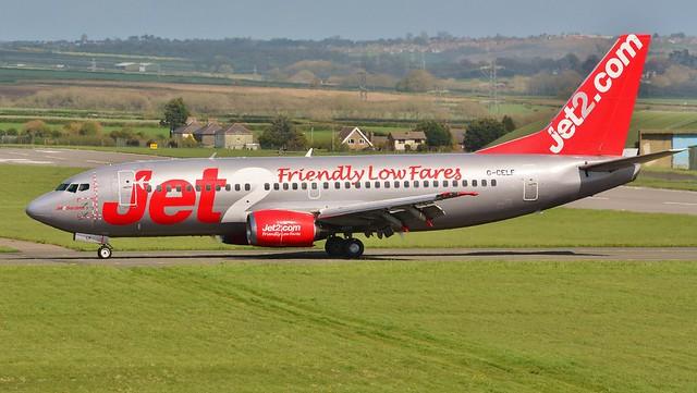Boeing 737 -377 G-CELF Jet2