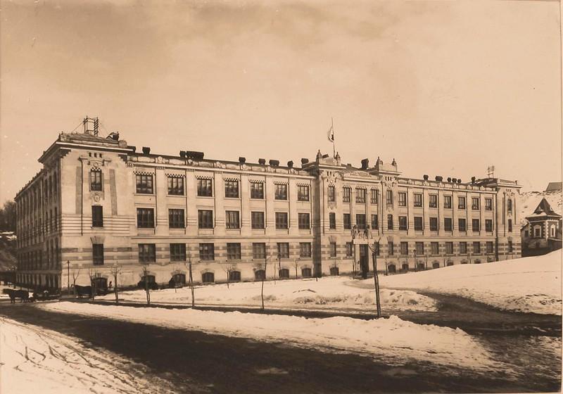 Госпиталь вдовствующей императрицы Марии Федоровны. Лемберг. 1915