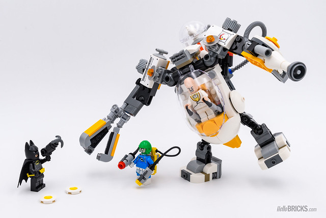 REVIEW LEGO 70920 Egghead Mech Nourriture Fight
