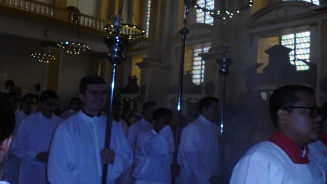 Missa com o Nuncio Apostólico em El Salvador