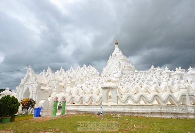 myanmar itinerary Hsinbyume Pagoda mingun