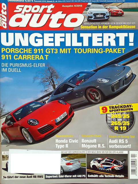 sport auto - 2018-04 - cover