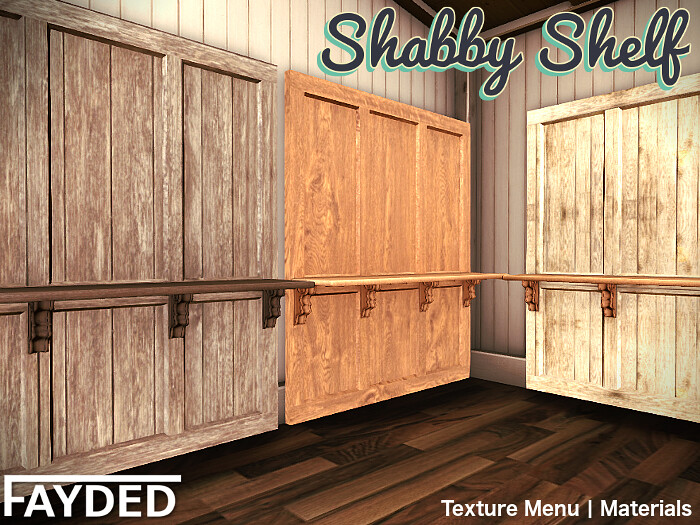 FAYDED – Shabby Shelf