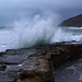 Stormy day at Portwrinkle, Cornwall by Baz Richardson (back on 26 May)