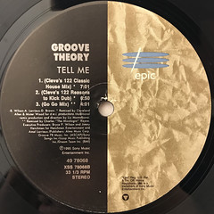 GROOVE THEORY:TELL ME(REMIXES)(LABEL SIDE-B)