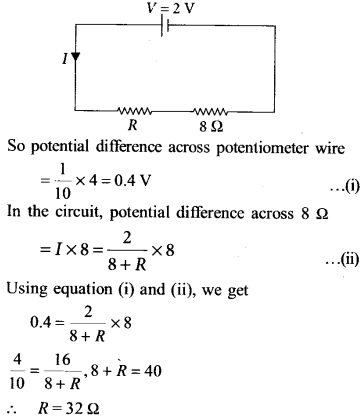NEET AIPMT Physics Chapter Wise Solutions - Current Electricity explanation 6
