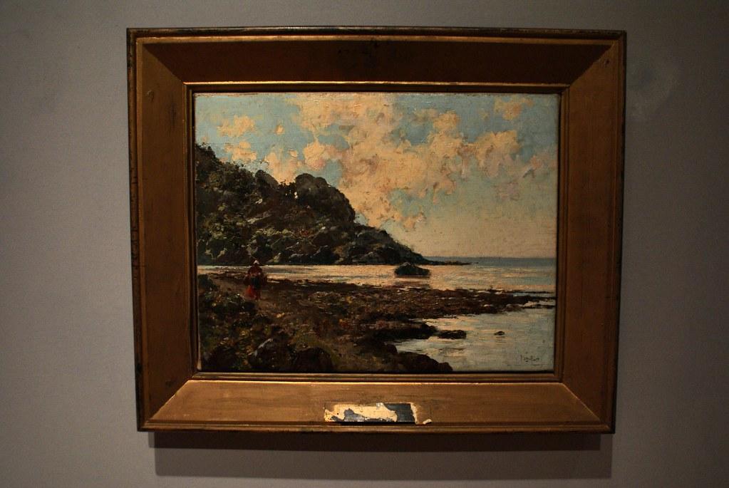 "Tableau ""Piccolo promontorio"" de Michele Catti au musée du GAM à Palerme."
