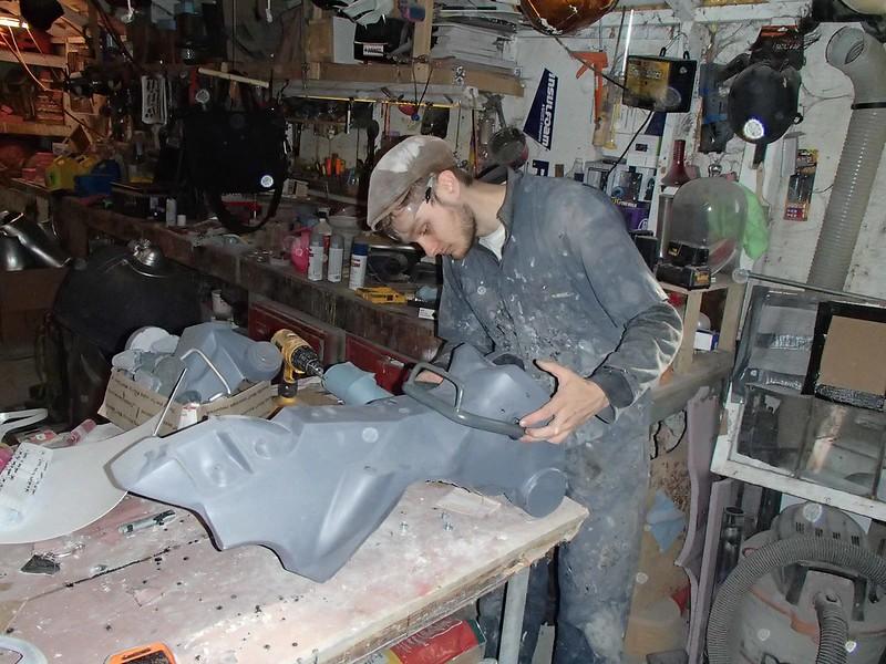 Freddy Installing Ankle Brackets