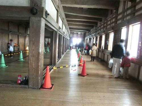 姫路城の見どころと混雑 城内 天守閣