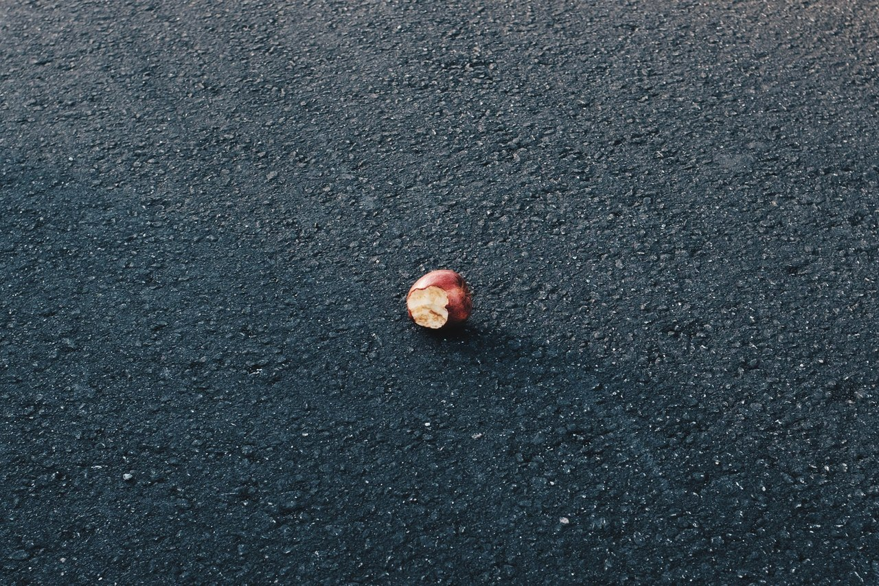 Parking Lot Apple