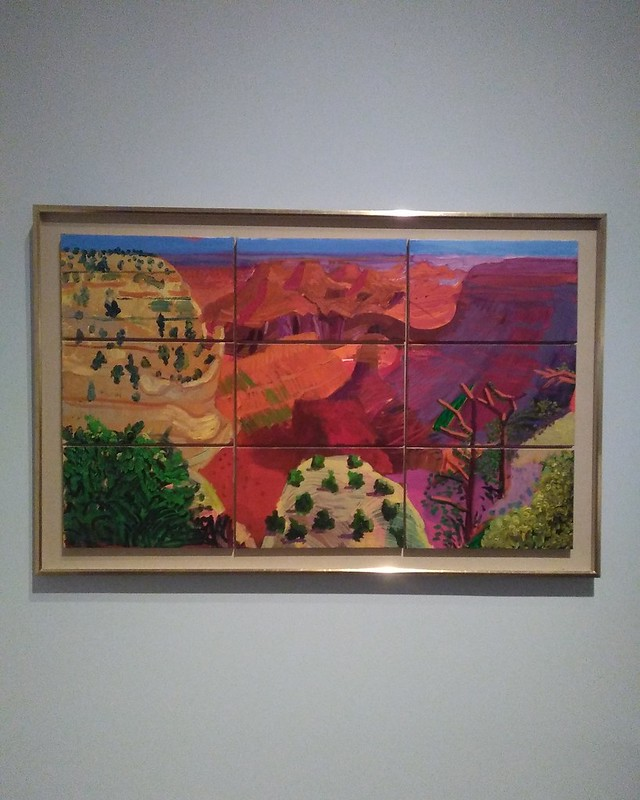 9 Canvas Study of the Grand Canyon (1998) #newyorkcity #newyork #manhattan #metmuseum #davidhockney #hockney #grandcanyon #latergram