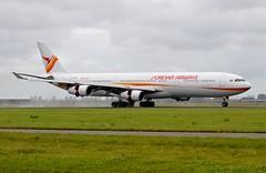 PZ-TCR Airbus A340-313 Surinam Airways (CDG/EHAM)