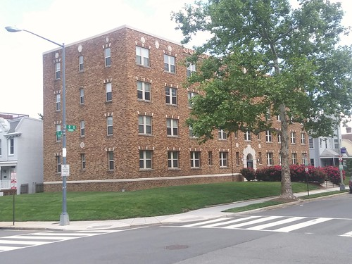 Now vs. Then: renovated and rehabilitated apartment building at 2nd and T Streets NE, Eckington neighborhood, DC