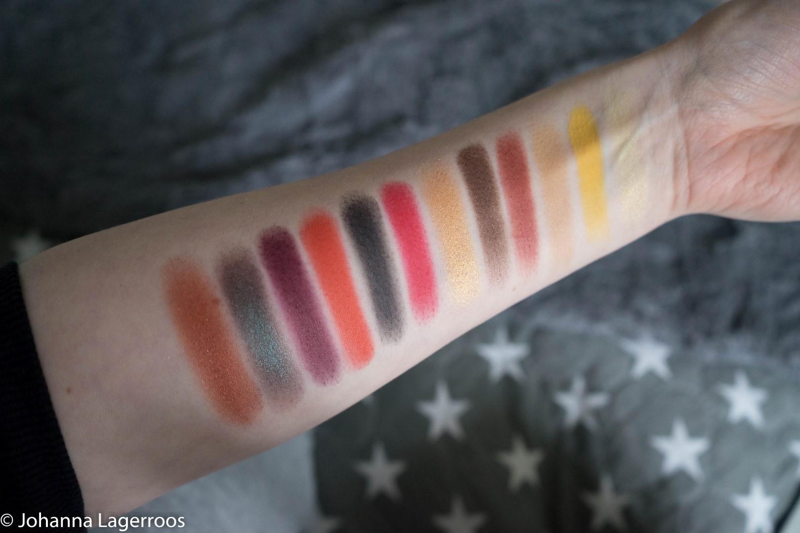 In Your Element Fire swatches