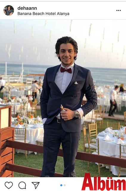 Mimar Dehan Parlayüksel, Banana Beach Hotel'de düzenlenen düğün töreninden yaptığı bu paylaşımla beğeni topladı.