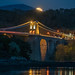 'Moonrise On The Straits' - Menai Bridge, Anglesey by Kristofer Williams