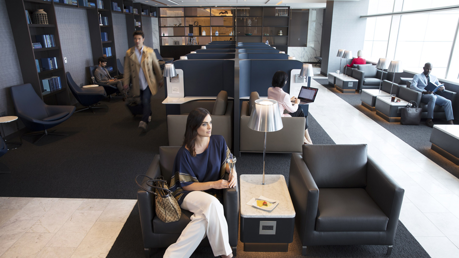 United Polaris Lounge at San Francisco International Airport