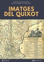 Mostra bibliogràfica: 'Imatges del Quixot'