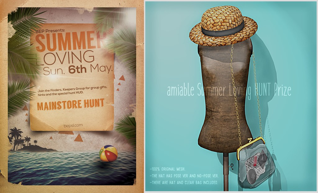 {amiable}Summer Loving – Hunt2018 Prize@the main store.
