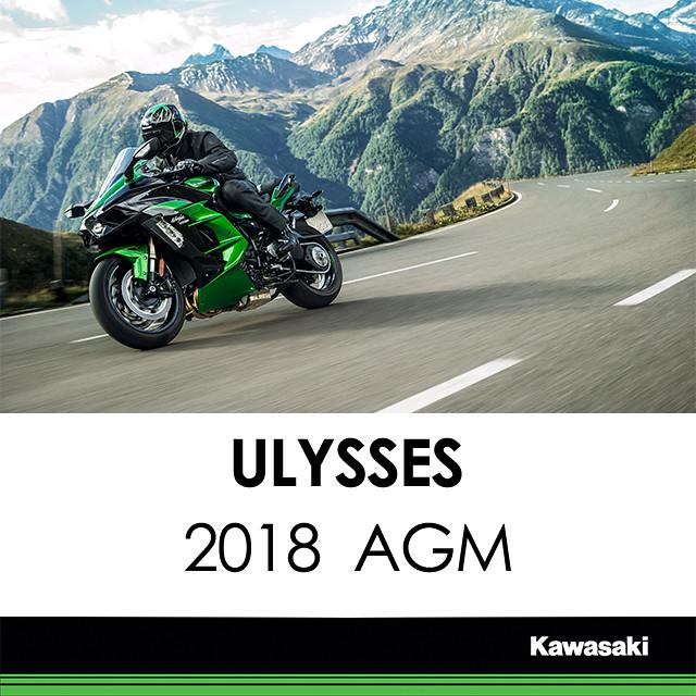 Kawasaki at Ulysses 2018 Annual General Meeting