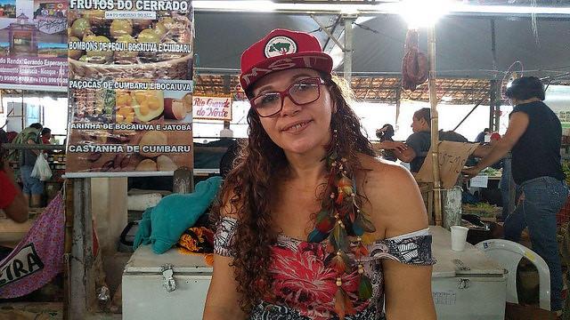 María Alzenir, el orgullo de ser de los sin tierra en Brasil