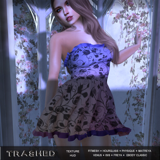 <Trashed> Krissa Dress with hud - TeleportHub.com Live!