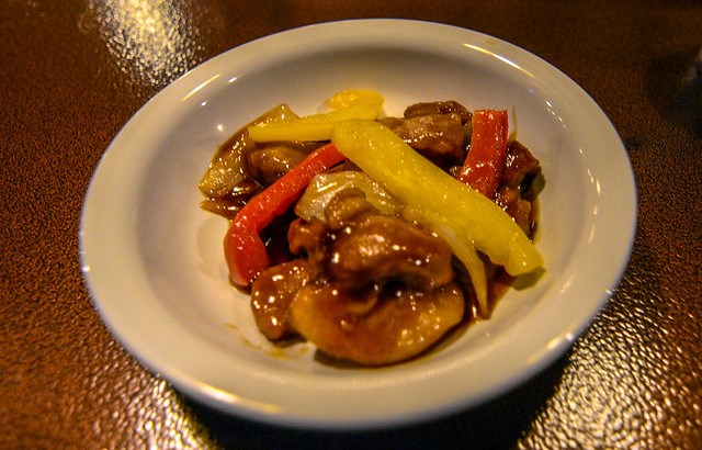 Sweet and sour chicken Vulcania TDS