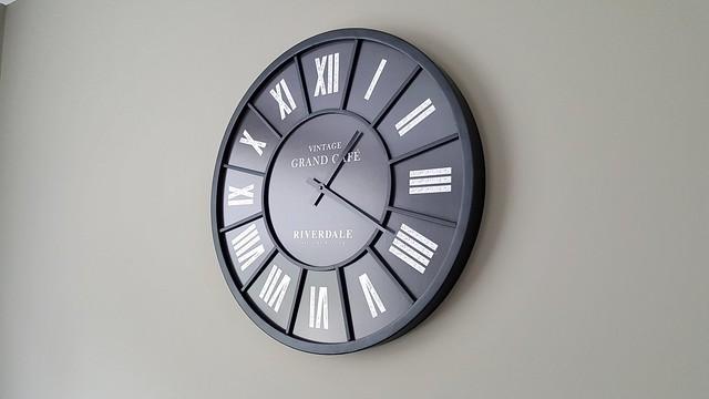Zwarte klok van Riverdale