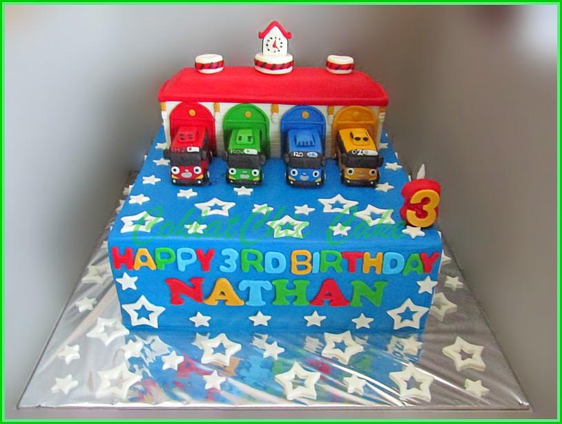 Cake Tayo Nathan 24 cm