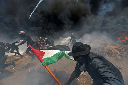 ISRAEL-USA/PROTESTS-PALESTINIANS-PHOTOGRAPHS
