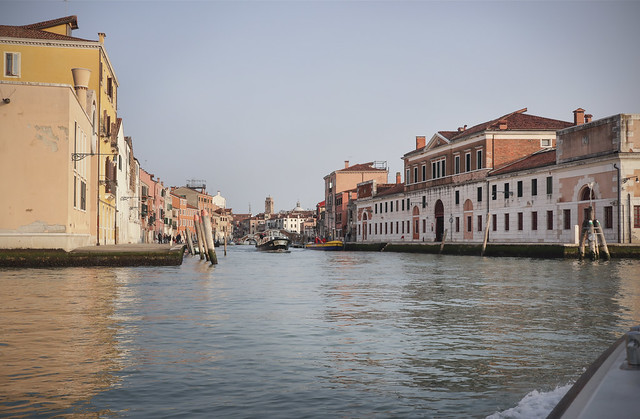 Water bus line A to Venice
