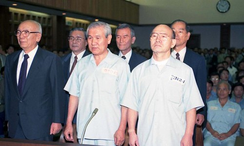 chun-doo-hwan-right-and-roh-tae-woo-are-arrested-and-later-pardoned-for-their-role-in-the-gwangju-massacre