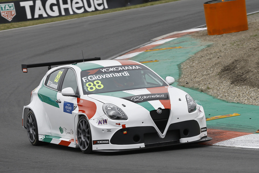88 GIOVANARDI Fabrizio, (ita), Alfa Romeo Giulietta TCR team Mulsanne, action during the 2018 FIA WTCR World Touring Car cup of Zandvoort, Netherlands from May 19 to 21 - Photo Jean Michel Le Meur / DPPI