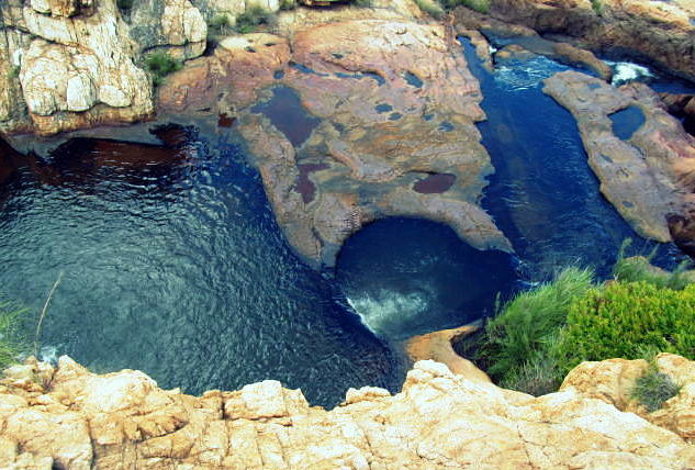 Daring hike of Rustenburg