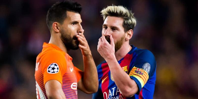 Aguero Komentari Tentang Ajakan Lionel Messi Untuk Bergabung Bersama Barcelona