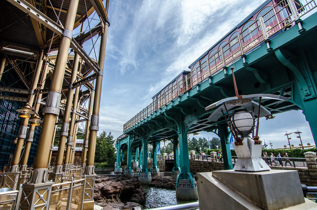 Electric Railway light Port Discovery TDS