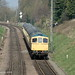 33035 approaching Rothley