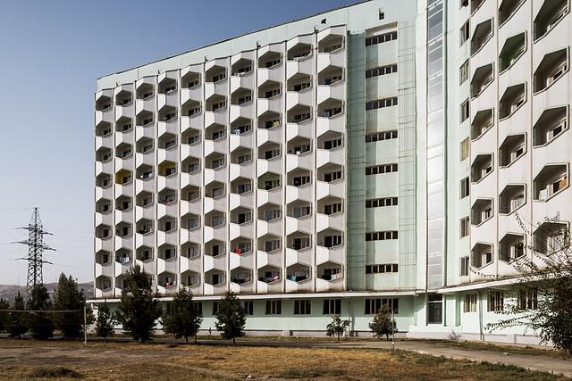 Tajik State University Hostel.