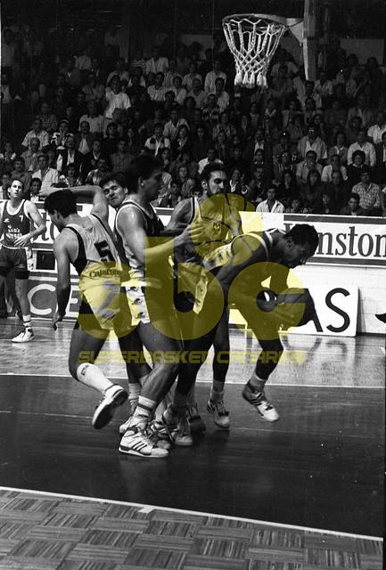 Un equipo de Archivo: Cajacanarias-Huesca La Magia (Temporada 1988-89)