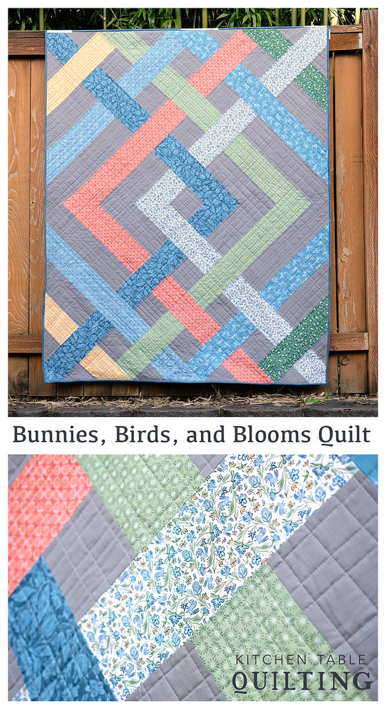 Bunnies, Birds, and Blooms Quilt
