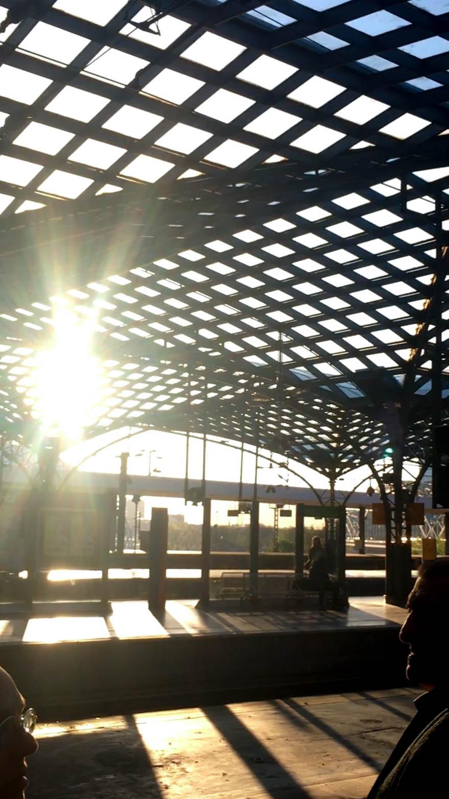 Tågstatitionen i Köln