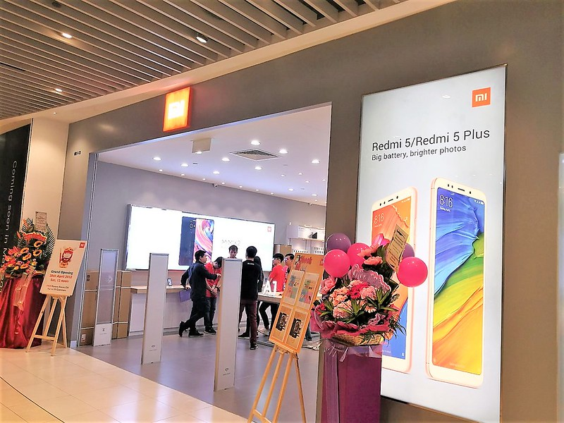 Xiaomi's Second Store in Singapore
